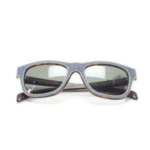 Diesel Blue Denim Tortoise Shell Sunglasses